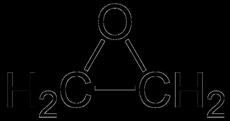 scheikundig symbool ethyleenoxide