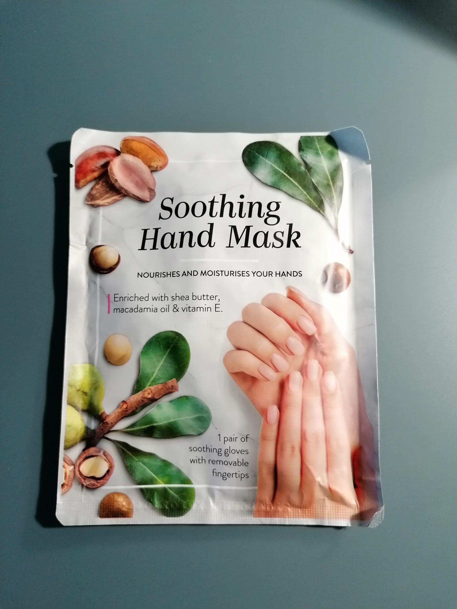 Soothing hand mask, handmasker